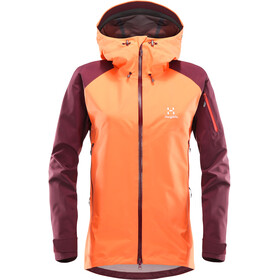 Haglöfs Roc Spirit Jacket Women orange/red